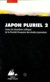 Japon pluriel t.2 - Couverture - Format classique