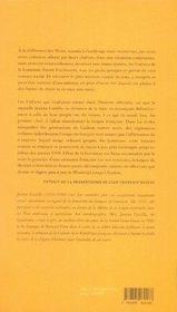 Moi jeanne castille de louisiane - 4ème de couverture - Format classique