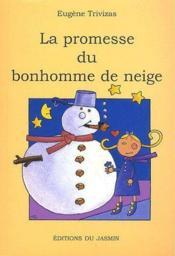 La promesse du bonhomme de neige - Couverture - Format classique