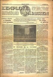 Employe Parisien (L') N°13 du 01/12/1936 - Couverture - Format classique