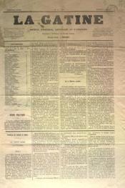 Gatine (La) N°6 du 09/04/1870 - Couverture - Format classique
