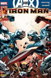 Vente livre :  Iron Man N.2012/5 ; Avengers Vs X-Men ; un pas en avant  - Hickman/Fraction - Iron Man