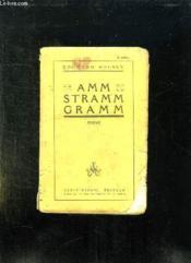 Amm Stramm Gramm. - Couverture - Format classique