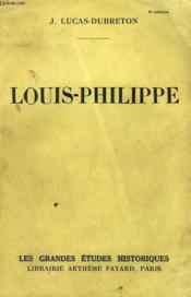 Louis-Philippe. - Couverture - Format classique
