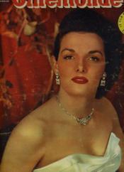 CINEMONDE - 20e ANNEE - N° 927 - JANE RUSSELL est, sans contredit, l'une des plus belles vedettes américaines - Couverture - Format classique