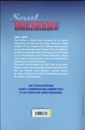 Soul breakers - 4ème de couverture - Format classique