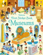 Vente livre :  First sticker book ; museums  - Bathie Holly - Holly Bathie