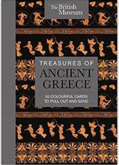 Vente livre :  Treasures of Ancient Greece ; 20 colourful cards to pull out and send  - Collectif