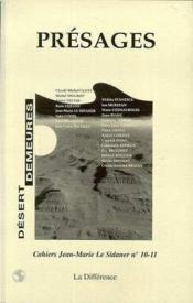 Presages N 10-11 Cahiers Le Sidaner - Couverture - Format classique