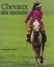 Chevaux Du Monde - Intérieur - Format classique