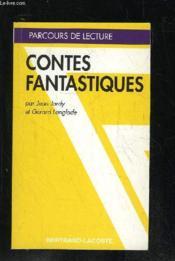 Contes Fantastiques - Parcours De Lecture - Couverture - Format classique