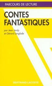 Contes Fantastiques - Parcours De Lecture - Intérieur - Format classique