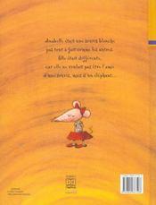 Zed L'Elephant - 4ème de couverture - Format classique