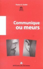 Communique ou meurs ! - Intérieur - Format classique