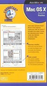 Mac Os X 10.3 Panther - 4ème de couverture - Format classique
