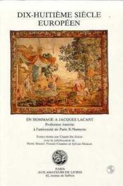 18eme Siecle Europeen - Couverture - Format classique