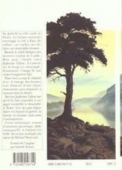 Le Chaland D Or - 4ème de couverture - Format classique