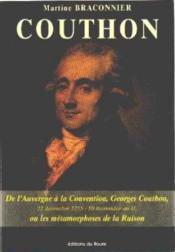 Couthon (Braconnier) - Couverture - Format classique