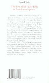 The Beautiful Vache Folle - 4ème de couverture - Format classique