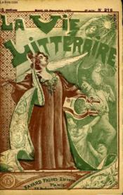 L'Anniversaire. La Vie Litteraire. - Couverture - Format classique