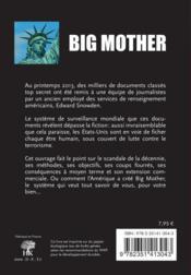 Big mother veille sur vous, vous surveille - 4ème de couverture - Format classique