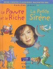 Le pauvre et le riche + la petite sirene - Intérieur - Format classique