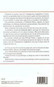 Les Perspectives Des Jeunes Issus De L'Immigration Maghrebine - 4ème de couverture - Format classique
