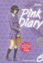 Pink diary t.6 - Couverture - Format classique