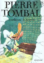 Pierre Tombal t.18 ; condamne à perpète - Intérieur - Format classique