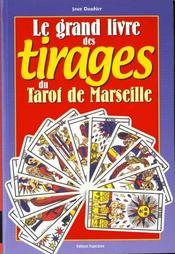 Grand Livre Tirages Tarot De Marseille - Intérieur - Format classique