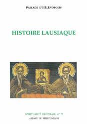 Histoire Lausiaque - Couverture - Format classique