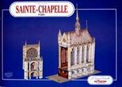 Sainte-chapelle ; Paris - Intérieur - Format classique