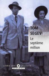 Le septième million - Couverture - Format classique