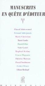 Manuscrits en quete d'editeurs - Intérieur - Format classique