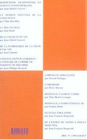 De la tradition a la pratique maconnique - 4ème de couverture - Format classique