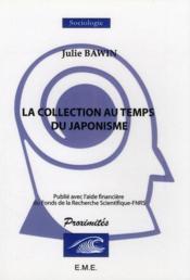 La collection au temps du japonisme ; un pionnier en belgique : hans de miniwarter - Couverture - Format classique