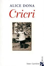Cricri  - Alice Dona