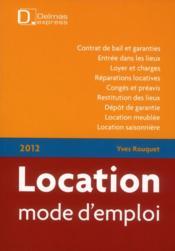 T l chargement location mode d 39 emploi 7e edition yves rouquet achet - Mode d emploi electromenager gratuit ...