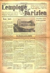Employe Parisien (L') N°1 du 01/01/1937 - Couverture - Format classique