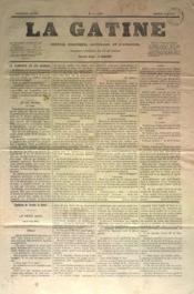 Gatine (La) N°9 du 30/04/1870 - Couverture - Format classique