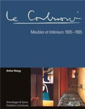 Le Corbusier Meubles Et Interieurs - Couverture - Format classique