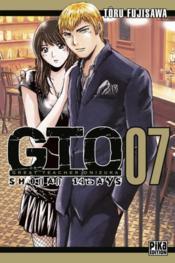 GTO Shonan 14 days t.7 - Couverture - Format classique