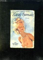 Haras Humain. - Couverture - Format classique