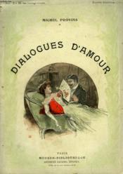 Dialogues D'Amour. Collection Modern Bibliotheque. - Couverture - Format classique