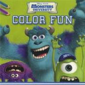 Vente livre :  Disney color fun monsters university  - Znu