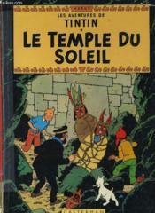 Les Aventures De Tintin - Le Temple Du Soleil - Couverture - Format classique
