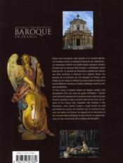 Histoire et splendeurs du baroque en France - 4ème de couverture - Format classique