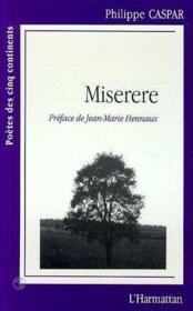 Miserere - Couverture - Format classique