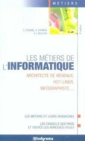 Les métiers de l'informatique (6e édition) - Couverture - Format classique