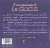 Enseignement De La Creche - 4ème de couverture - Format classique